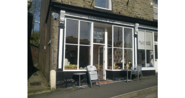 Glossop beats the High Street gloom with shop frontage