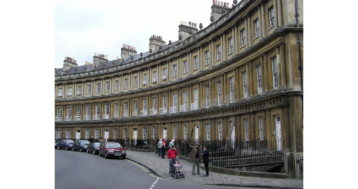 Architectural styles and history in Bath